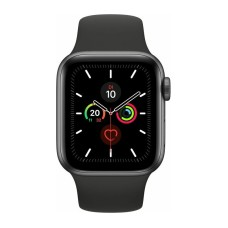 Apple Watch 5 , 40mm Space Grey Aluminium Case with Black Sport Band LT